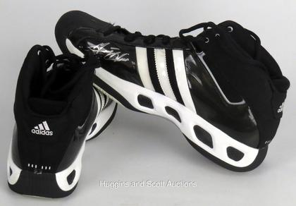 Grant Hill Game Used \u0026 Autographed Shoes