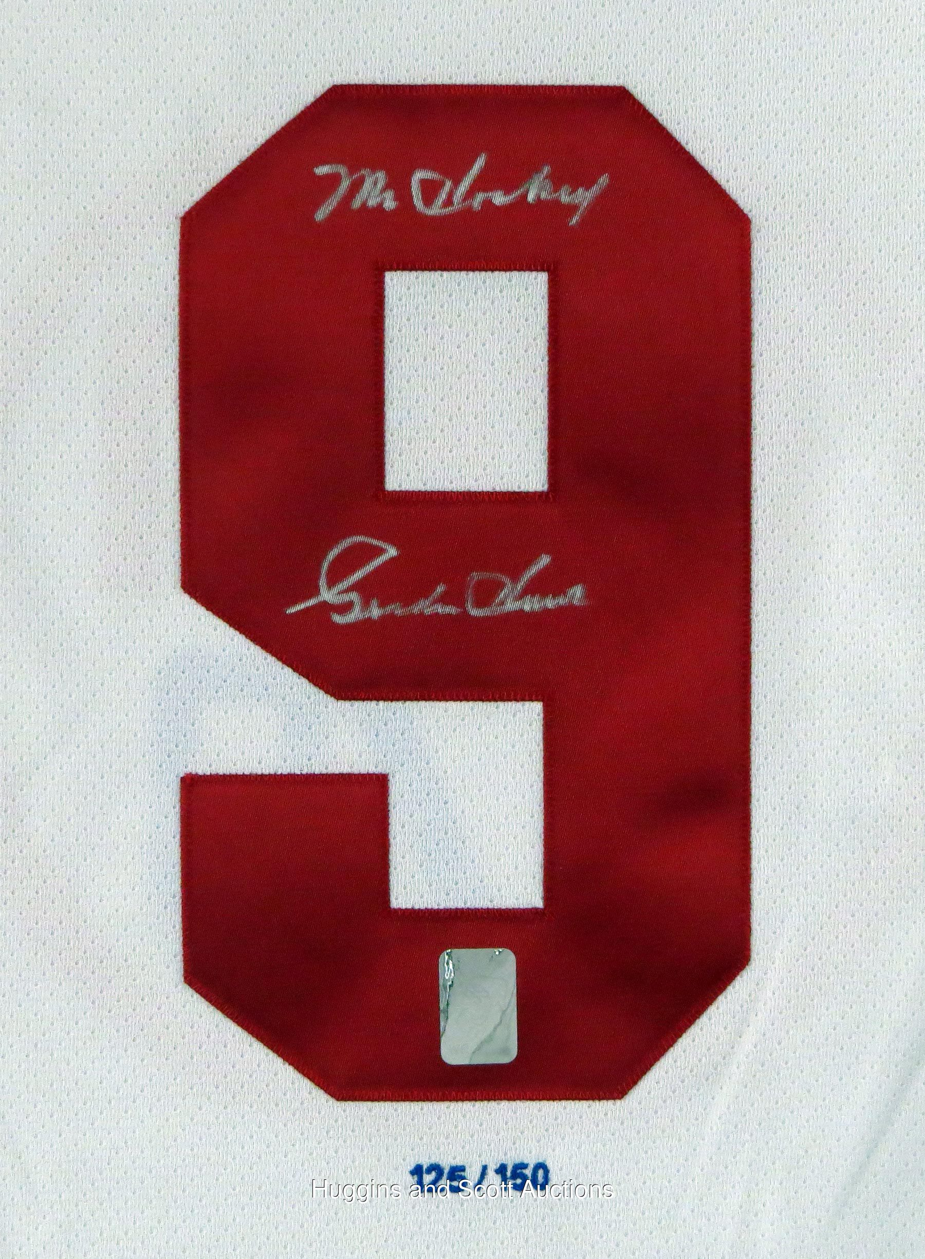 """official photos c6134 01c76 Gordie Howe Signed LE """"1979 WHA All-Star Game"""" Jersey with ..."""